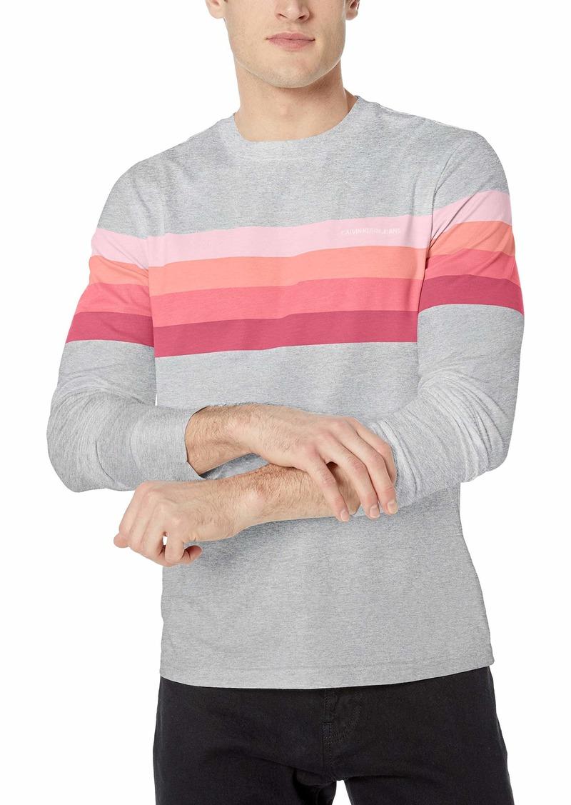 Calvin Klein Men's Long Sleeve Logo T-Shirt