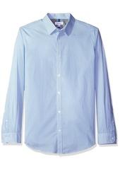 Calvin Klein Men's Long Sleeve Pixel Houndstooth Button Down Shirt  X-LARGE