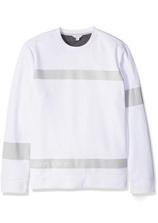 Calvin Klein Men's Long Sleeve Ponte Knit Pullover