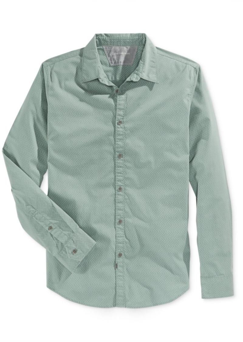Calvin Klein Jeans Men's Long-Sleeve Shirt