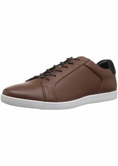 Calvin Klein Men's Maine Smooth LTHR/Calf Suede Sneaker New TAN  M M US
