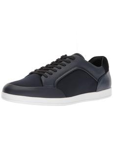 Calvin Klein Men's Mason Brushed Leather Sneaker  8 Medium US