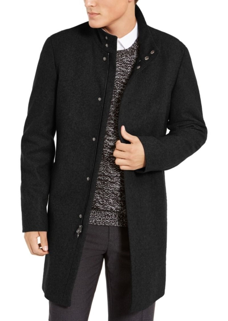 Calvin Klein Men's Mayden Slim-Fit Overcoat