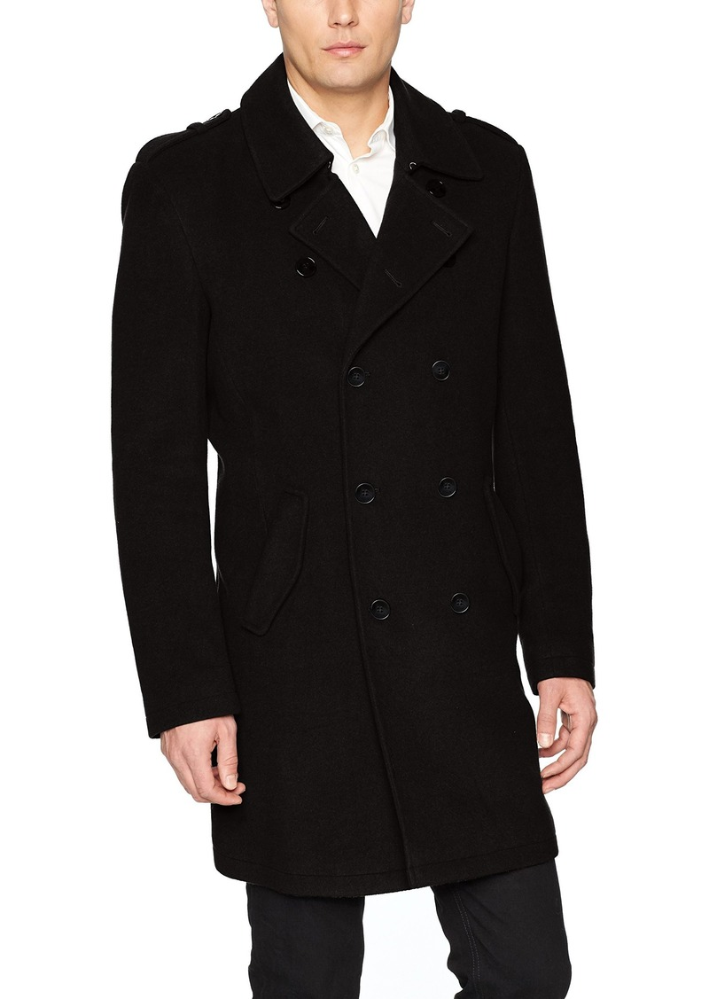 efa6f5ccb407 Calvin Klein Calvin Klein Men s Meade Double Breasted Top Coat ...