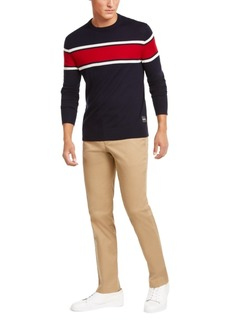 Calvin Klein Men's Merino Blend Colorblock Sweater