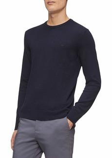 Calvin Klein Men's Merino Sweater Crew Neck  XS