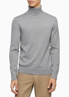Calvin Klein Men's Merino Wool Turtleneck Sweater