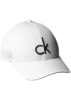 Calvin Klein Men's Mesh Baseball Dad Hat  L-XL