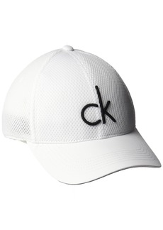 Calvin Klein Men's Mesh Baseball Dad Hat  S-M
