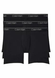 Calvin Klein Men's Microfiber Stretch Multipack Boxer Briefs