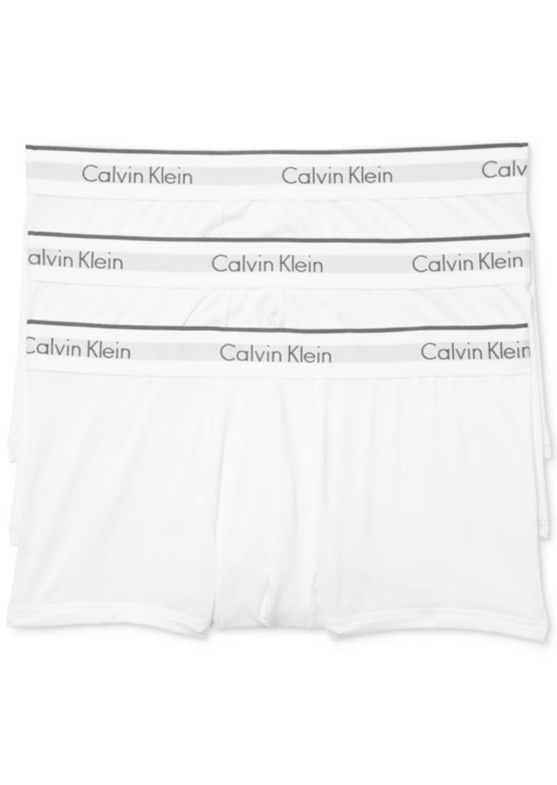 Calvin Klein Men's Microfiber Stretch Trunk 3-Pack