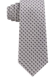 Calvin Klein Men's Mini Bullseye Slim Silk Tie