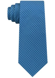 Calvin Klein Men's Mirror Dot Slim Tie