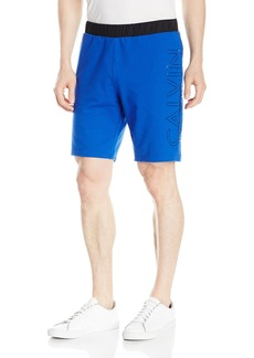 Calvin Klein Men's Mixed Media Terry Logo Short