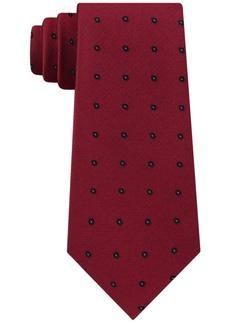Calvin Klein Men's Molten Oval Slim Tie