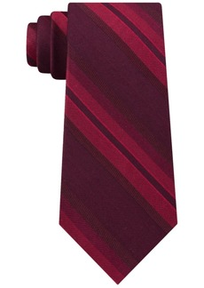 Calvin Klein Men's Molten Striation Stripe Slim Tie