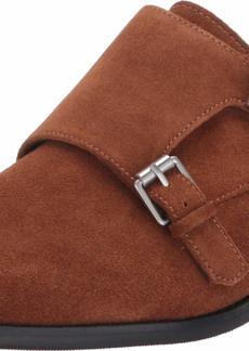 Calvin Klein Men's Monk Strap Suede Shoes Loafer