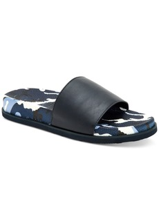 Calvin Klein Men's Montana Camouflage Slide Sandals Men's Shoes