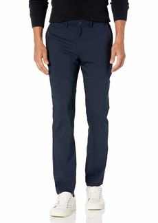 Calvin Klein Men's Move 365 Slim Fit Tech Modern Stretch Chino Wrinkle Resistant Pants  34x32