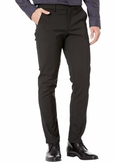 Calvin Klein Men's Move 365 Stretch Skinny Fit Wrinkle Resistant Tech Woven Pant  33x32