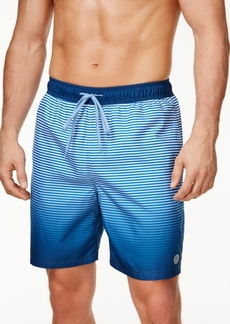 Calvin Klein Men's Ombre Striped Swim Trunks, 7