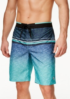 Calvin Klein Men's Ombre Striped Swim Trunks