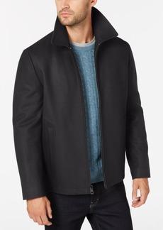 Calvin Klein Men's Open Bottom Hipster Coat