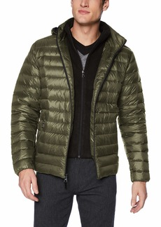 Calvin Klein Men's Packable Down Hoody Jacket