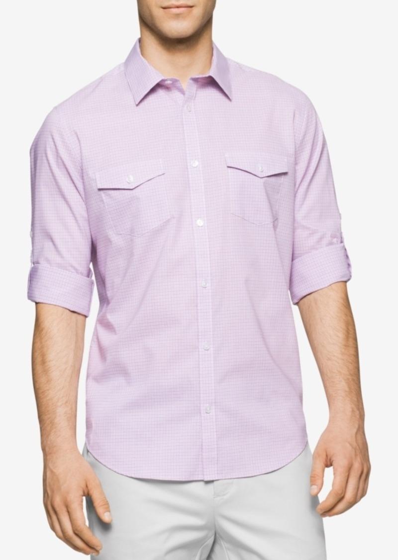 Calvin Klein Men's Parker Tattersall Shirt