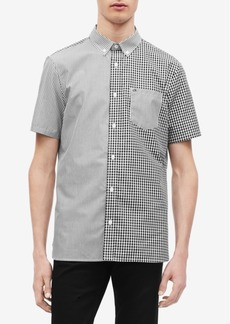 Calvin Klein Men's Pattern-Blocked Shirt