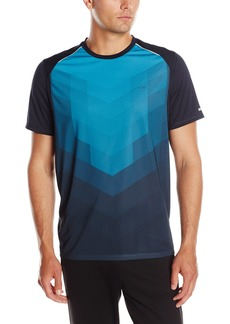 Calvin Klein Men's Performance Chevron Engineered Printed Tee