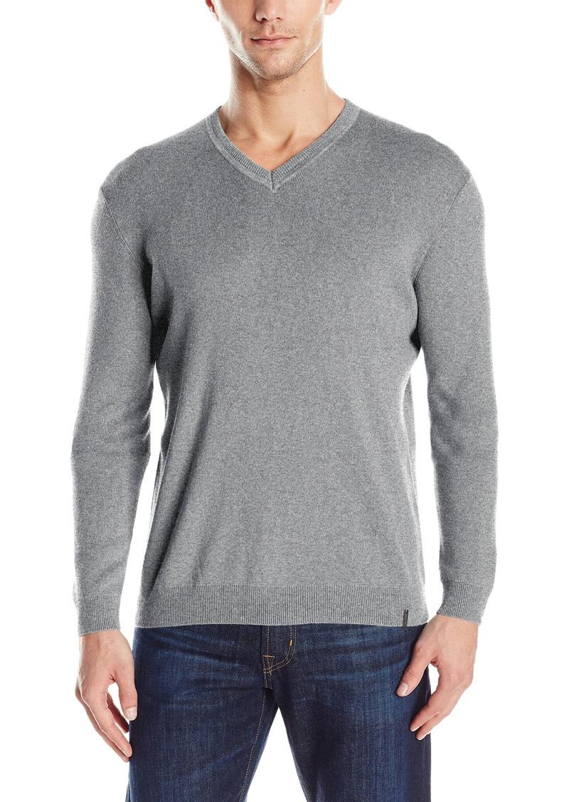 calvin klein calvin klein men 39 s pima cotton sweater. Black Bedroom Furniture Sets. Home Design Ideas