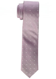 Calvin Klein Men's Pindot Logo Slim Tie
