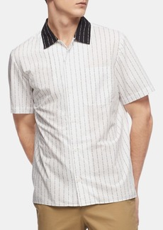 Calvin Klein Men's Pinstripe Shirt