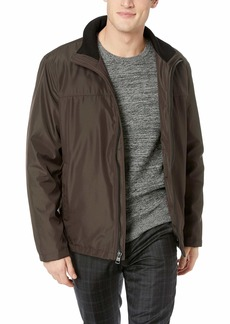 Calvin Klein Men's Poly Bonded Open Bottom Jacket