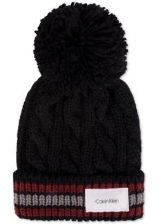 Calvin Klein Men's Pom Pom Cuffed Hat