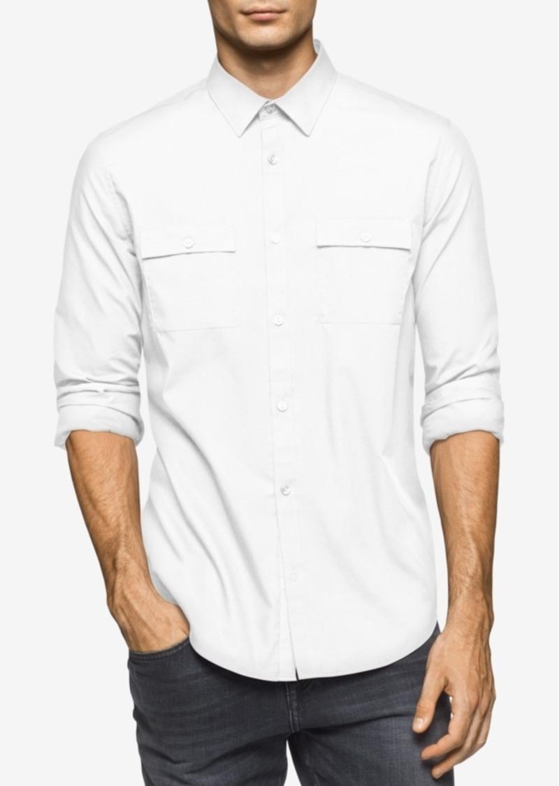 Calvin Klein Men's Poplin Shirt