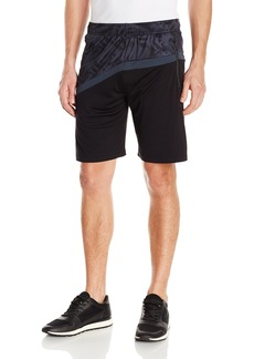 Calvin Klein Men's Printed Interlock Track Shorts