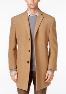 Calvin Klein Men's Prosper Wool-Blend X-Fit Overcoat