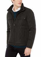 Calvin Klein Men's Quilted Barn Jacket black