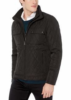 Calvin Klein Men's Quilted Barn Jacket black