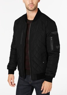 Calvin Klein Men's Quilted Patch Bomber Jacket