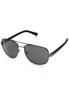 Calvin Klein Men's R159S Aviator Sunglasses
