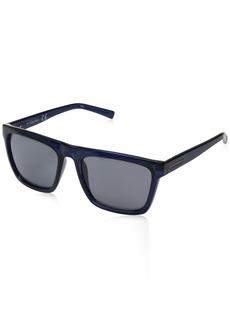 Calvin Klein Men's R737s Square Sunglasses