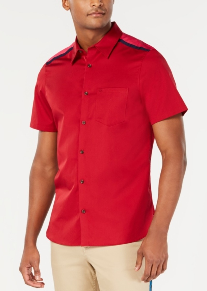 Calvin Klein Men's Reeves Pieced Shirt