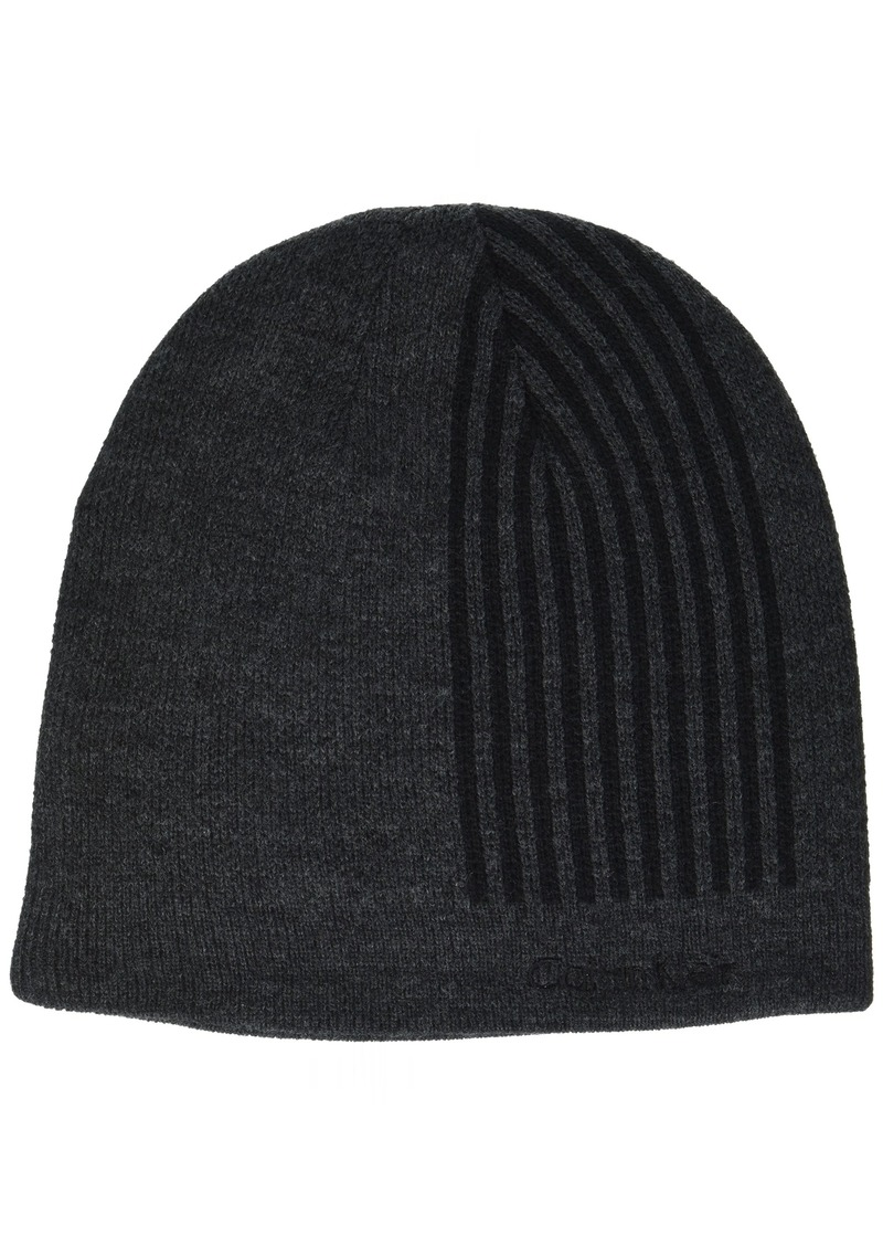Calvin Klein Men's Refraction Logo Beanie