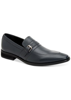 Calvin Klein Men's Reyes Calf Leather Loafers Men's Shoes
