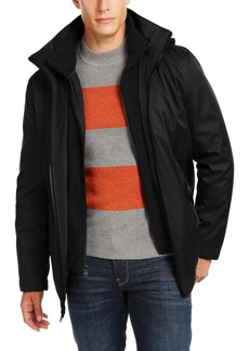 Calvin Klein Men's Ripstop Full-Zip Jacket with Fleece Bib