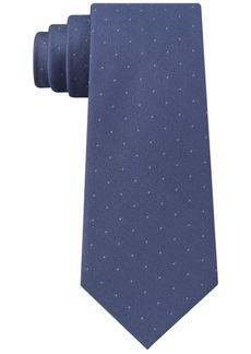 Calvin Klein Men's Sable Slim Pindot Silk Tie