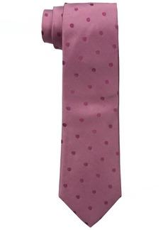 Calvin Klein Men's Satin Sheen Mini Dot Tie